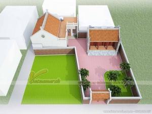 Hồ sơ nhà thờ họ 2 mái ở Thái Bình