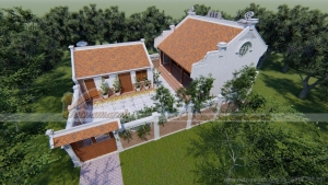 Nhà thờ họ kết hợp nhà ngang ở Nam Định