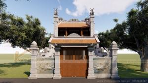 Dự án nhà thờ họ diện tích nhỏ thiết kế độc đáo chỉ có ở Vietnamarch