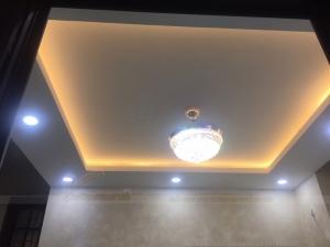 Hoàn thiện trần nhà phòng khách đẹp tại Quan Nhân