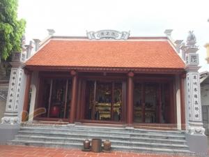 Mẫu nhà thờ họ 3 gian ở Phú Thọ