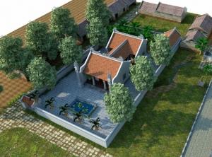 Nhà thờ họ chữ Công tại Long Biên Hà Nội