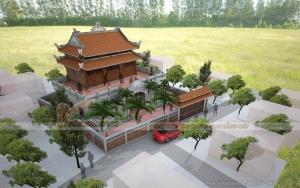 Mẫu nhà thờ họ Lương ở Văn Giang Hưng Yên đẹp bề thế với chi phí lên tới 2 tỉ đồng