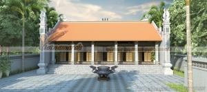 Thi công nhà thờ họ 5 gian tại Thái Bình với kiến trúc cổ đặc trưng của miền Bắc